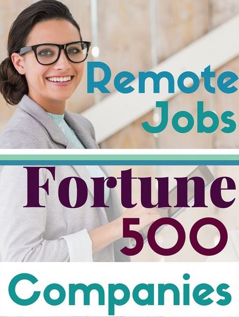 best remote work at home jobs for virtual assistants with Fortune 500 employers